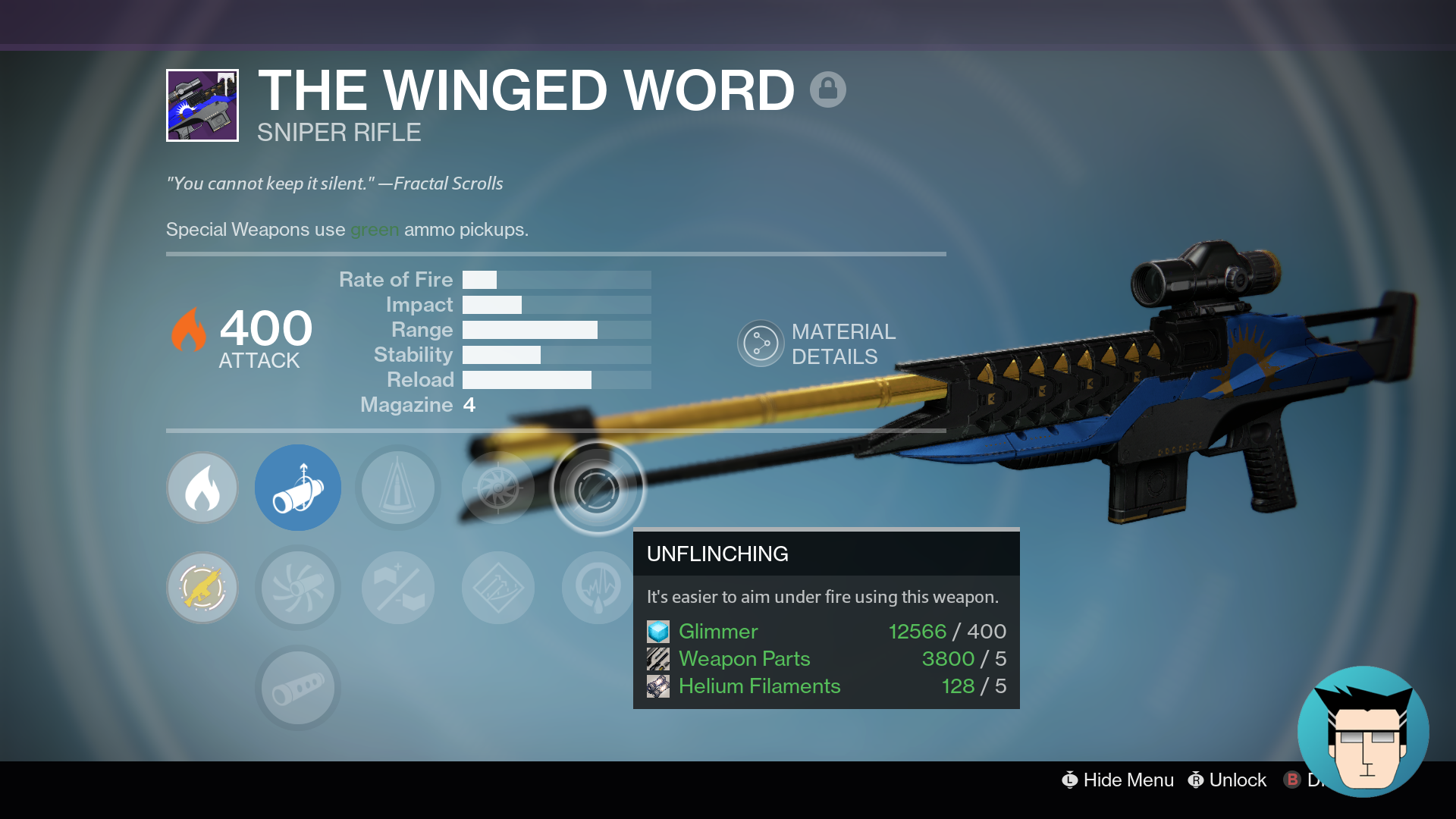 My new favourite PVP sniper | The Winged Word