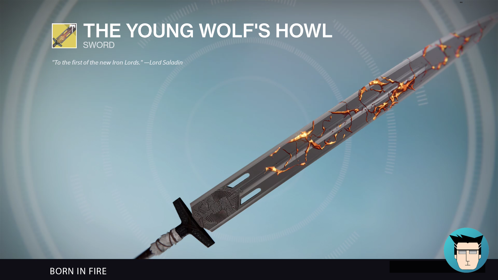 THE YOUNG WOLF'S HOWL | BORN IN FIRE
