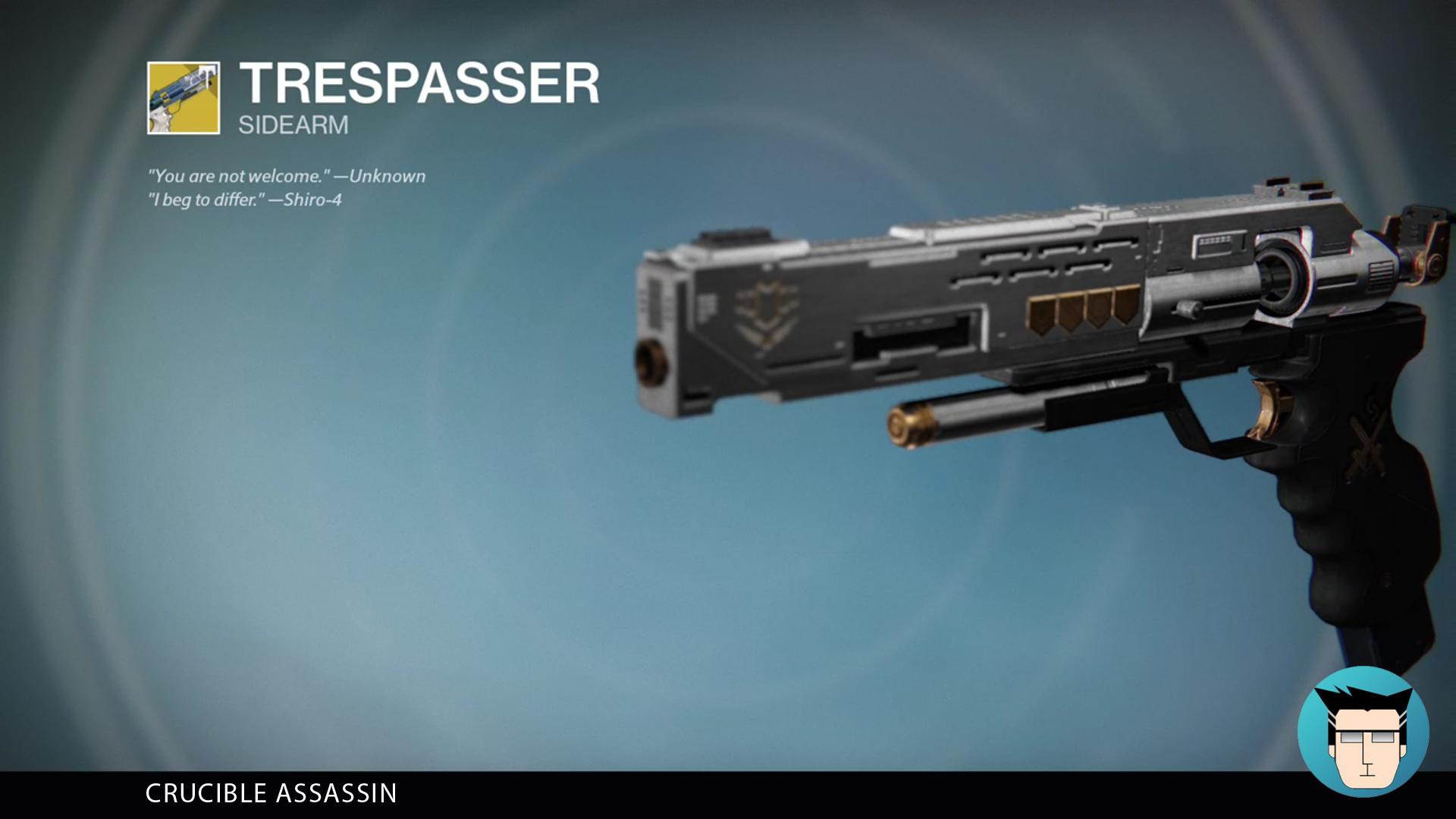 TRESPASSER | CRUCIBLE ASSASSIN
