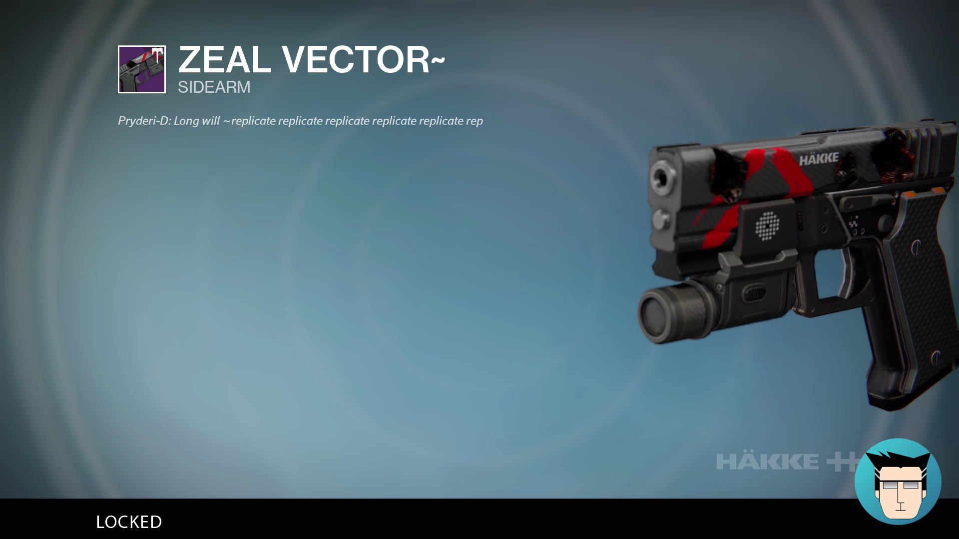 Zeal Vector | Locked