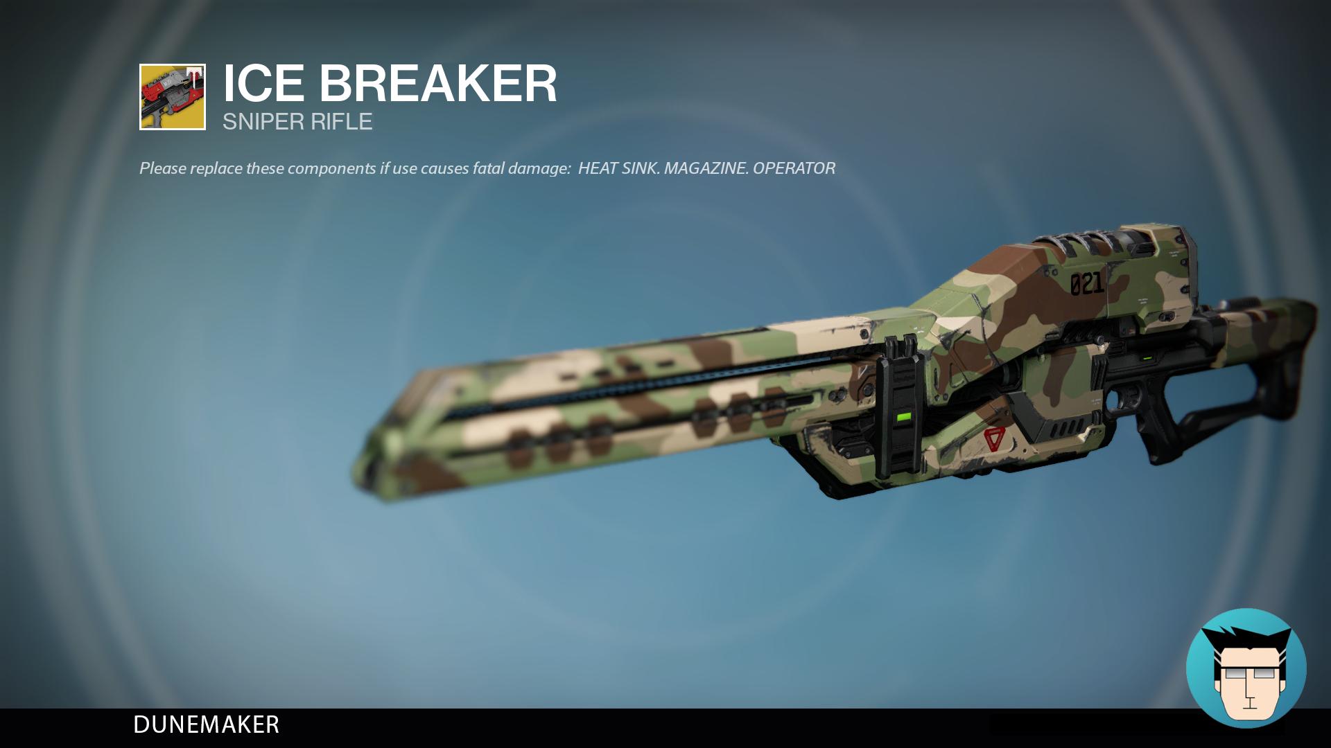 ICE BREAKER | DUNEMAKER